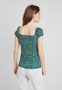 mint&berry - Print T-shirt - white/green - 2