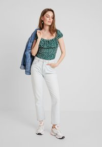 mint&berry - Print T-shirt - white/green - 1