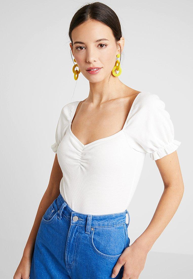 mint&berry - BODY - T-shirt med print - cloud dancer
