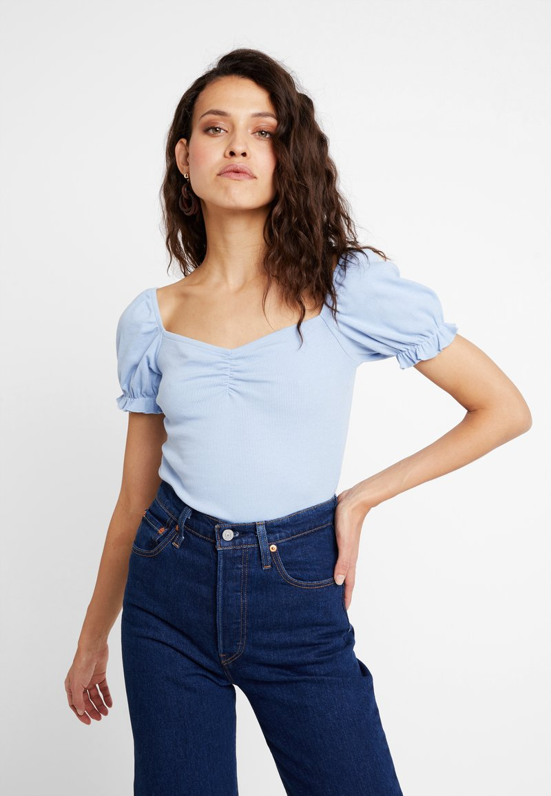 mint&berry - BODY - T-shirt z nadrukiem - kentucky blue
