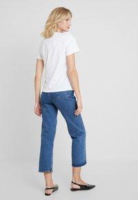 mint&berry - Print T-shirt - white/lilac - 2