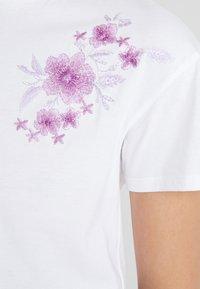 mint&berry - Print T-shirt - white/lilac - 4