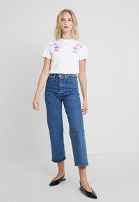 mint&berry - Print T-shirt - white/lilac - 1