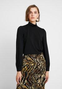 mint&berry - Bluzka z długim rękawem - black - 0