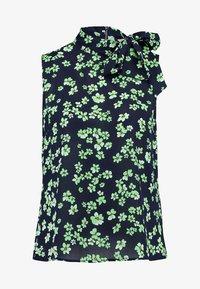 mint&berry - Top - dark blue/light green - 3