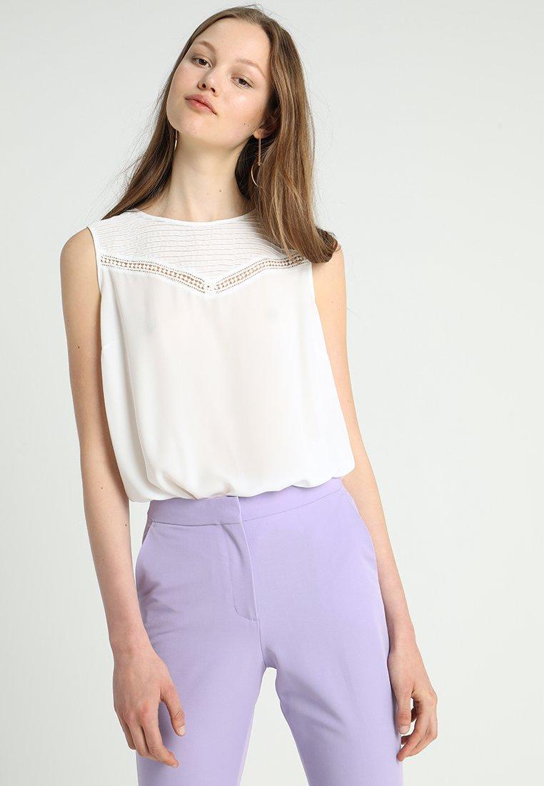 mint&berry - Bluse - white alyssum