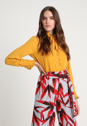 Blouse - golden yellow