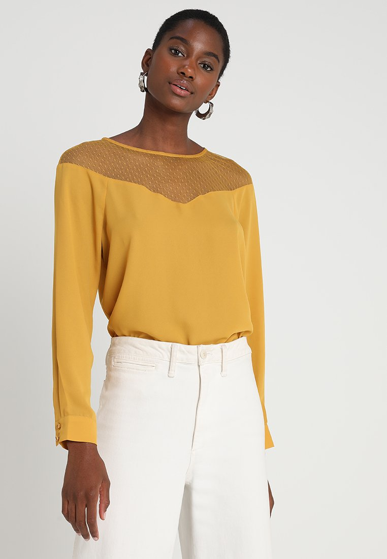 mint&berry - Blouse - dark yellow