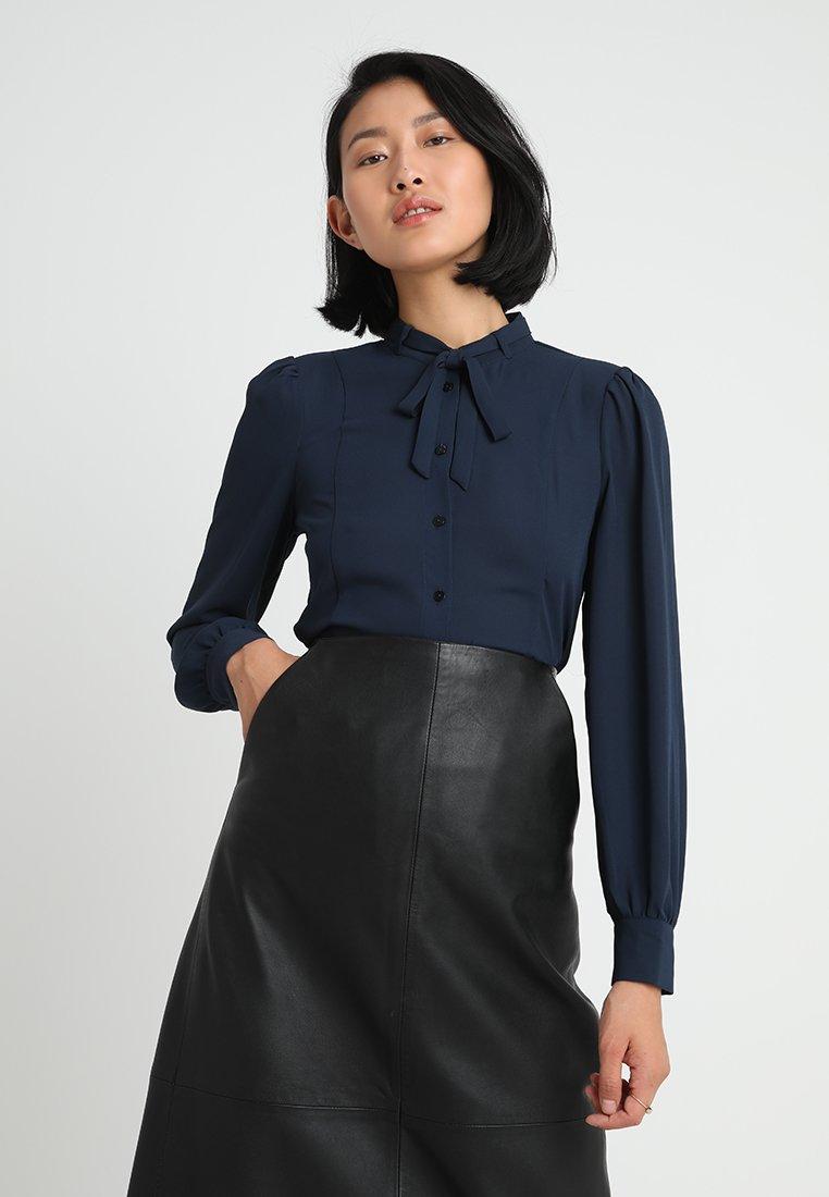 mint&berry - Button-down blouse - dark blue