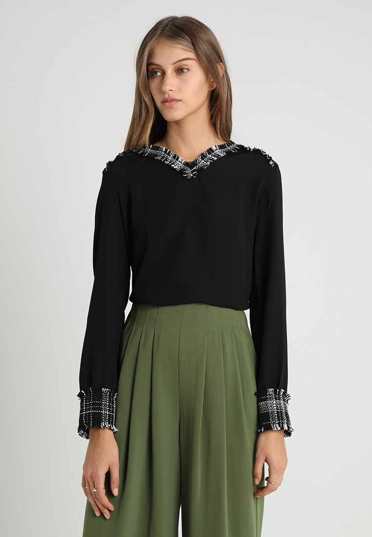 mint&berry - Blusa - black/black