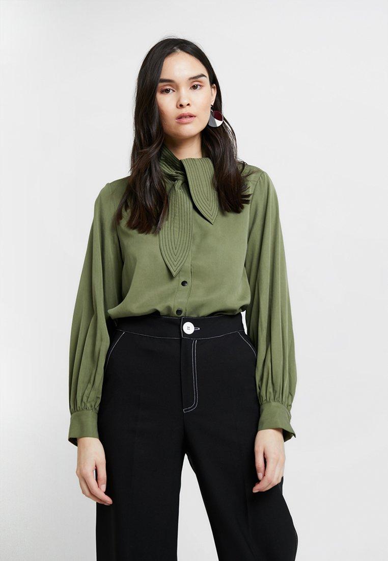 mint&berry - Bluse - deep lichen green