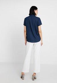 mint&berry - Button-down blouse - navy blazer - 2