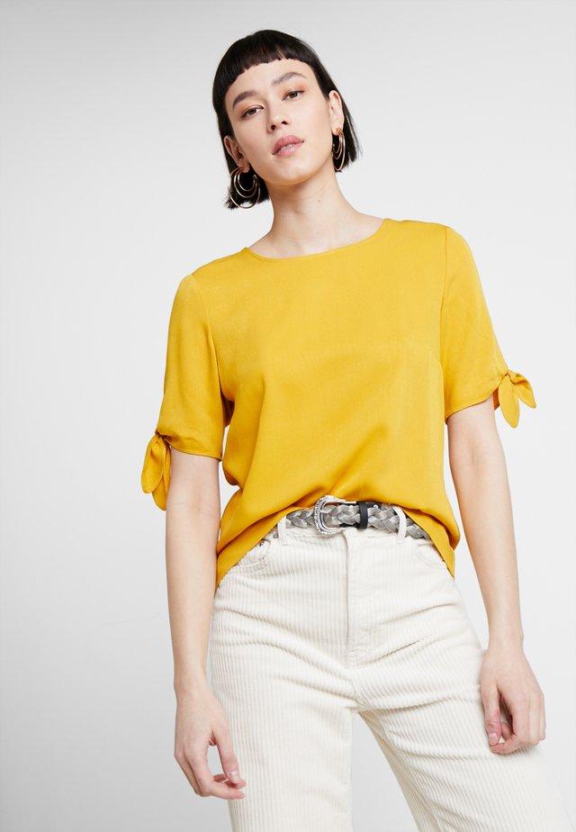 Blouse - golden yellow