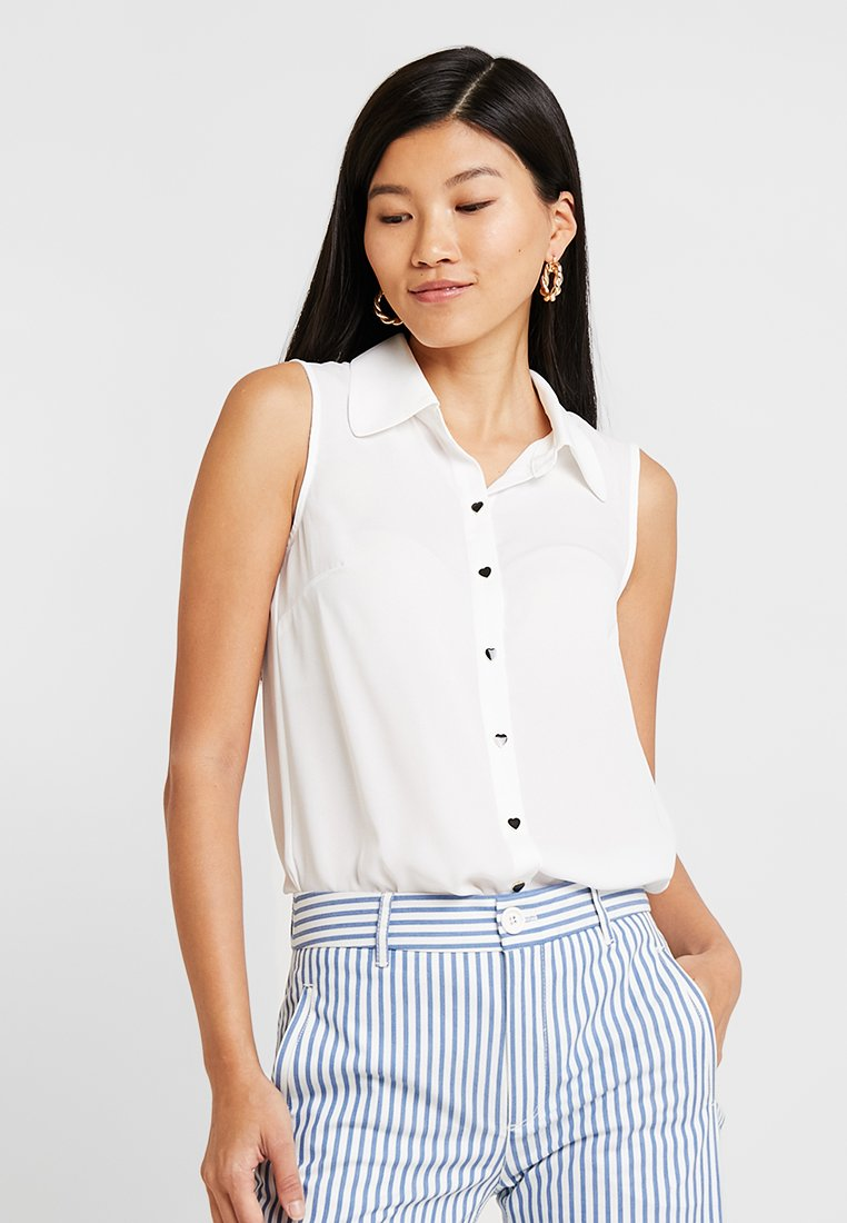 mint&berry - Skjortebluser - white alyssum