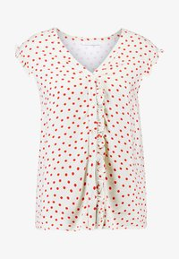 mint&berry - Blouse - beige/red - 4