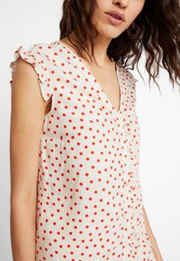 mint&berry - Blouse - beige/red - 5