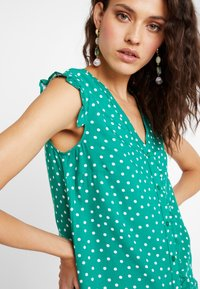 mint&berry - Blusa - green/white - 4