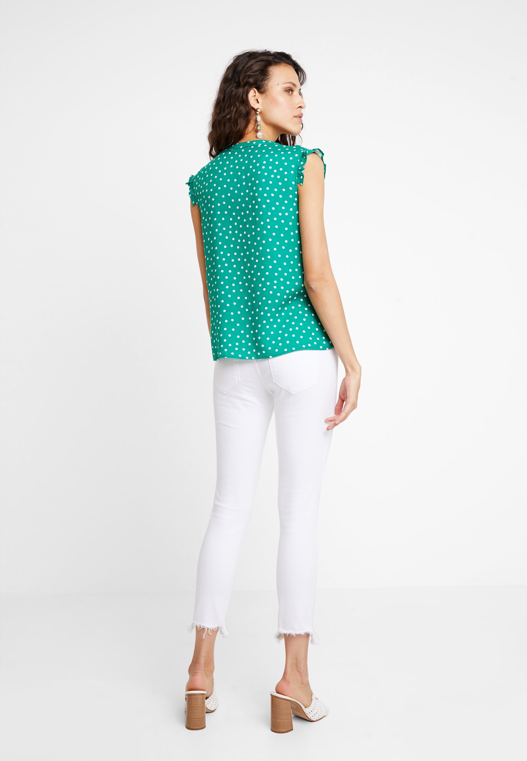 green mint green Blouse amp;berry amp;berry green white mint Blouse white amp;berry mint Blouse BdQCeEoWrx