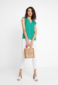 mint&berry - Blusa - green/white - 1