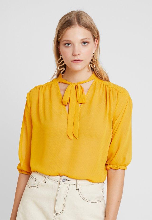 Bluser - golden yellow