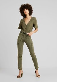 mint&berry - Blouse - olive night - 1