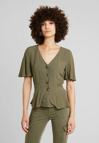 mint&berry - Blouse - olive night - 0