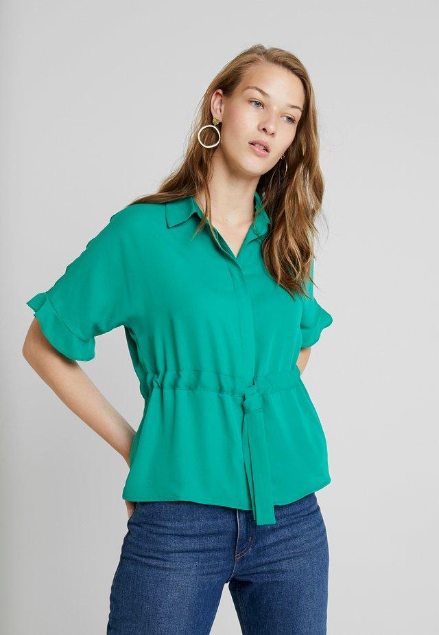 Button-down blouse - bosphorus