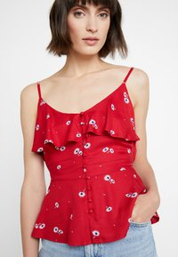mint&berry - Top - red/white - 4
