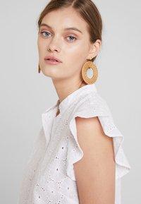 mint&berry - Button-down blouse - white - 3
