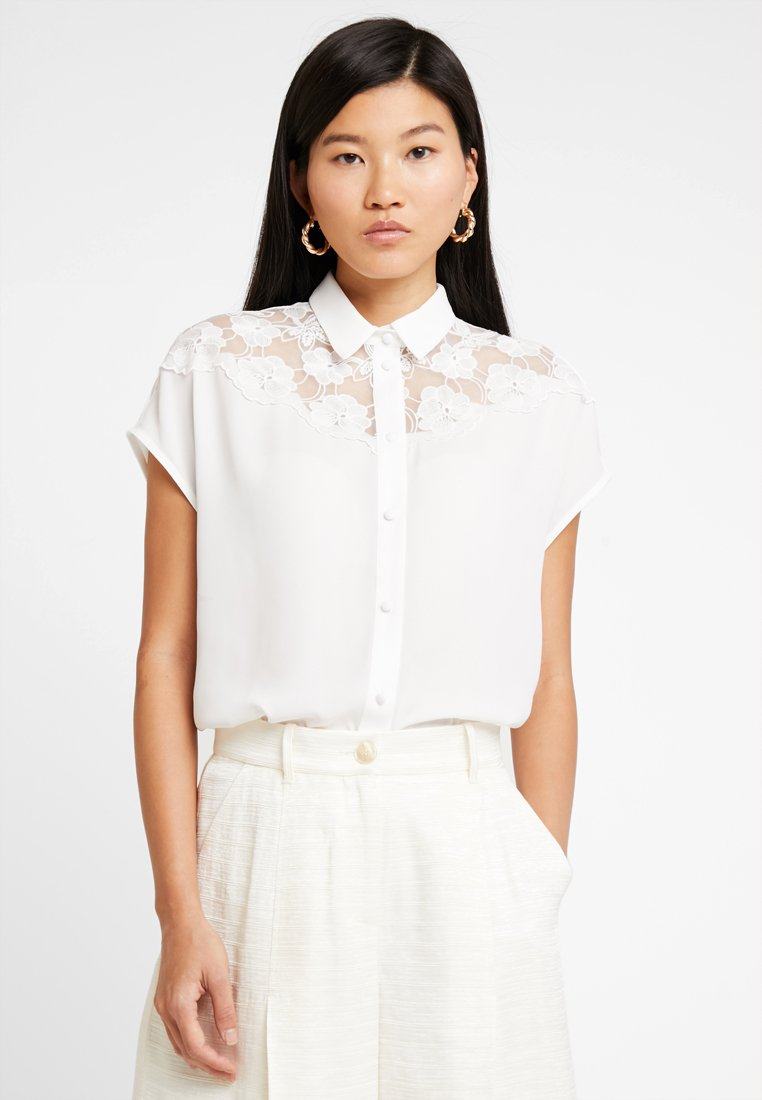 mint&berry - Hemdbluse - white alyssum