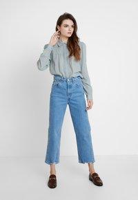 mint&berry - Button-down blouse - slate blue - 1