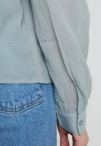 mint&berry - Button-down blouse - slate blue - 4