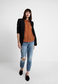 mint&berry - Button-down blouse - caramel cafe - 1
