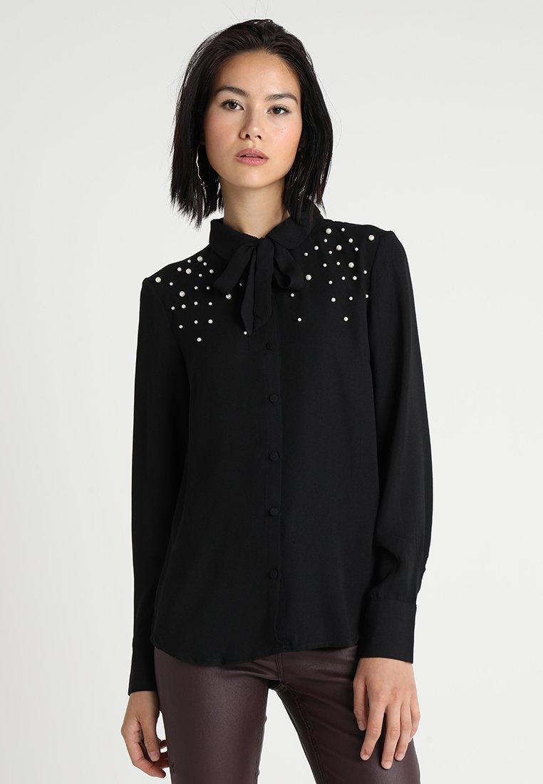 mint&berry - Button-down blouse - black