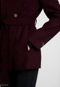 mint&berry - Krátký kabát - bordeaux - 3
