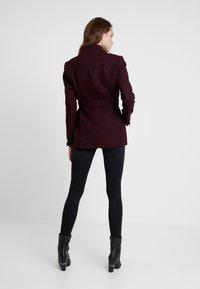mint&berry - Krátký kabát - bordeaux - 2