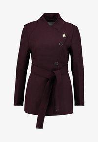 mint&berry - Krátký kabát - bordeaux - 4