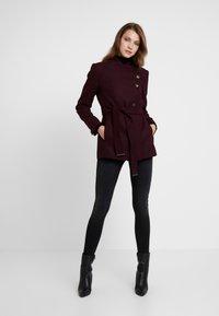 mint&berry - Krátký kabát - bordeaux - 1