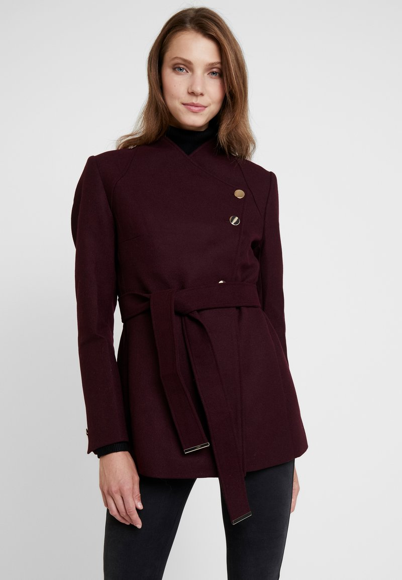 mint&berry - Krátký kabát - bordeaux