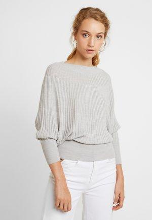 Jumper - light grey melange