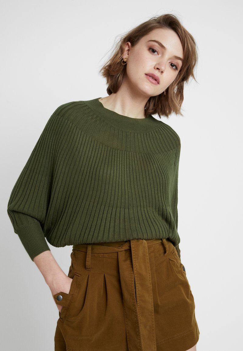 mint&berry - Strickpullover - olive night
