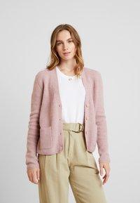 mint&berry - Zip-up hoodie - rose - 0