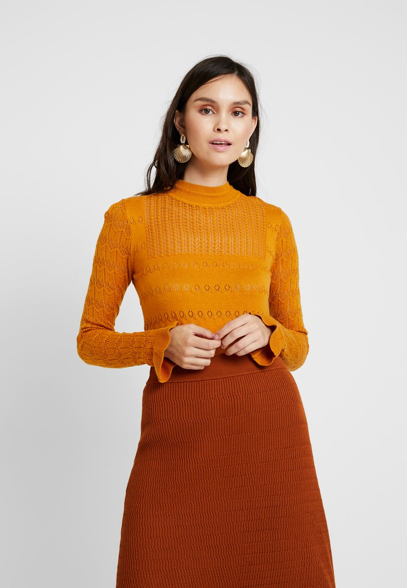 mint&berry - Pullover - mustard