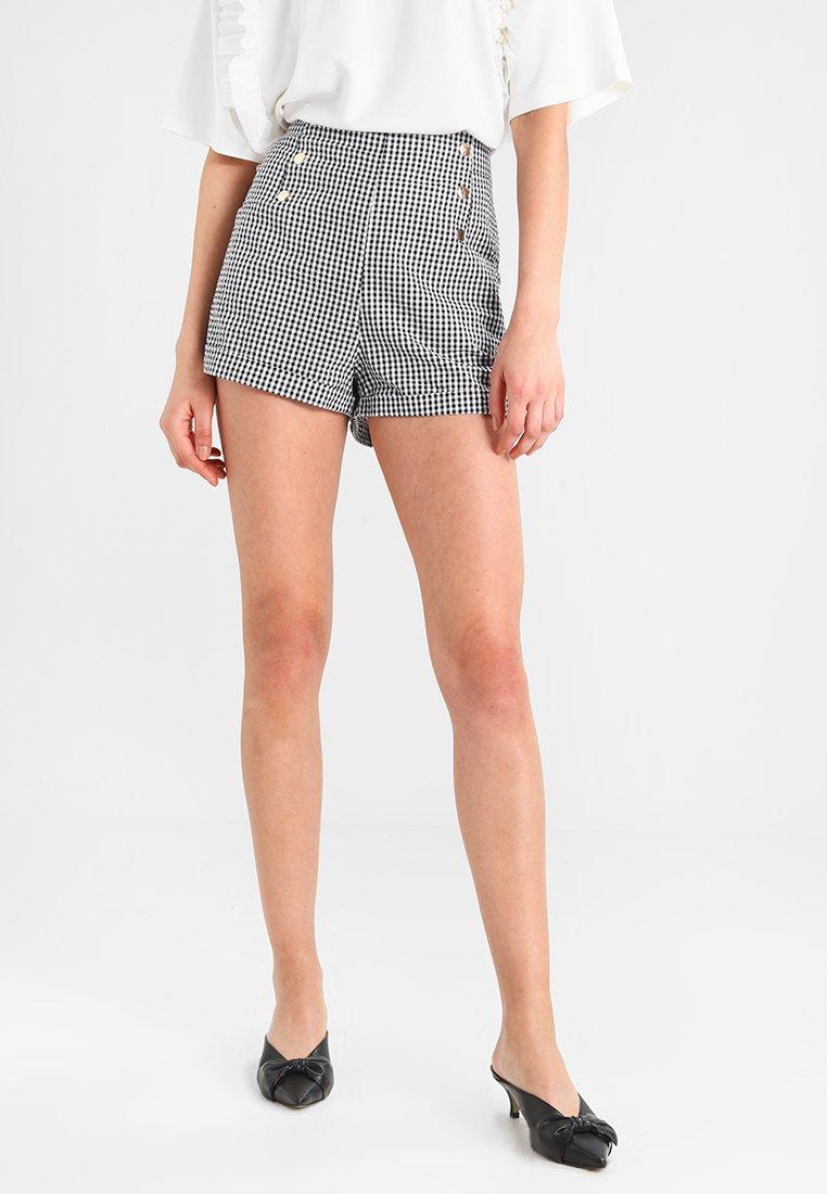 mint&berry - Shorts - white/black