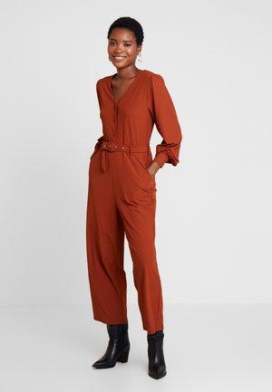 Overall / Jumpsuit /Buksedragter - rust