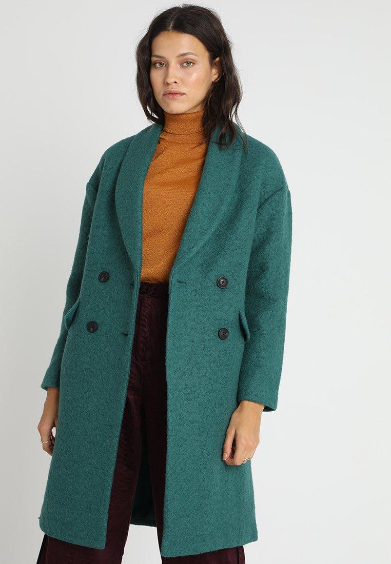 mint&berry - Zimní kabát - green