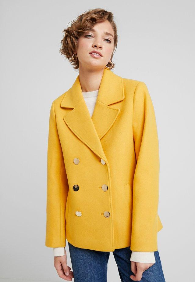 Kurtka wiosenna - golden yellow