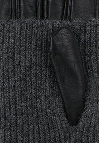 mint&berry - Hansker - black/grey - 3