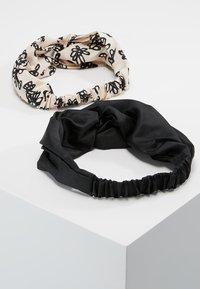 mint&berry - 2 PACK HEADBAND - Haar-Styling-Accessoires - black - 2
