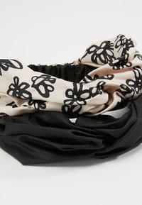 mint&berry - 2 PACK HEADBAND - Haar-Styling-Accessoires - black - 4